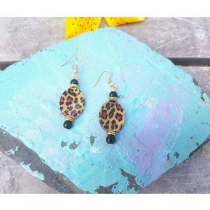 💜 2 for $20 Handmade animal print earrings